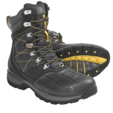 The North Face Snowsquall Tall Winter Boots - Waterproof (For Men) in Tnf Black/Leopard Yellow - Closeouts
