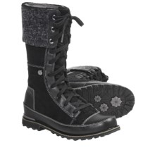 The North Face Snowtropolis Boots - Insulated (For Women) in Tnf Black/Tnf Black - Closeouts