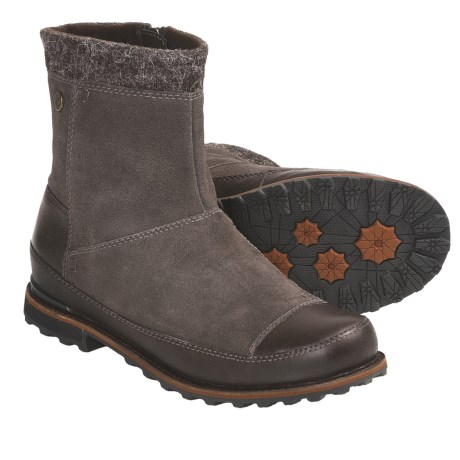 The North Face Snowtropolis Mid Winter Boots (For Women) in Deep Chestnut Brown/Camel Brown