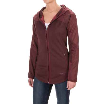 The North Face Spark Hoodie - Zip Front (For Women) in Deep Garnet Red/Deep Garnet Red Dark Heather (Std) - Closeouts