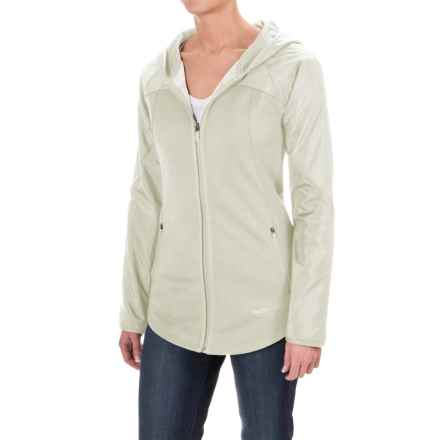 The North Face Spark Hoodie - Zip Front (For Women) in Vaporous Grey - Closeouts