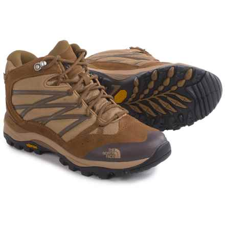 The North Face Storm II Mid WP Hiking Boots - Waterproof (For Women) in Moab Khaki/Sepia Brown - Closeouts