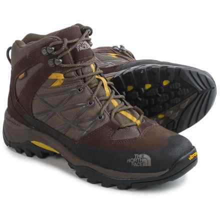 The North Face Storm Mid WP Hiking Boots - Waterproof (For Men) in Weimaraner Brown/Antique Moss Green - Closeouts