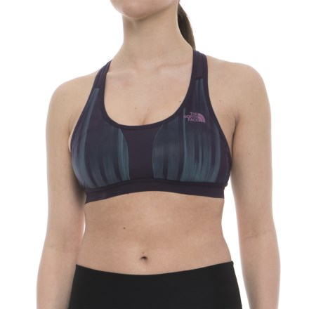 a660f2f7e6af1 The North Face Stow-N-Go IV Racerback Sports Bra - High Impact (