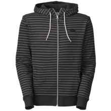 The North Face Striped Tanmanmac Hoodie Sweatshirt - Full Zip (For Men) in Tnf Black - Closeouts