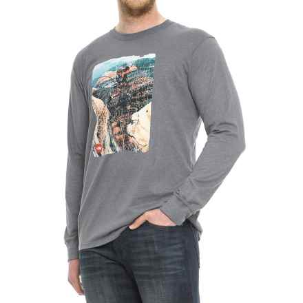 The North Face Summit T-Shirt - Long Sleeve (For Men) in Medium Grey Heather - Closeouts