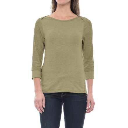 The North Face Sunblocker Shirt - UPF 30, 3/4 Sleeve (For Women) in Deep Lichen Green Heather - Closeouts