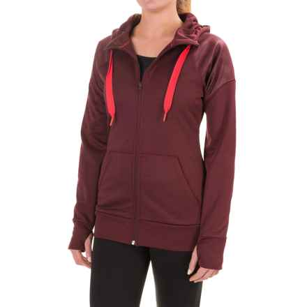 The North Face Suprema Hoodie - Full Zip (For Women) in Deep Garnet Red - Closeouts