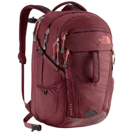 The North Face Surge Backpack (For Women) in Barolo Red - Closeouts