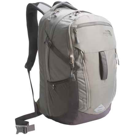 The North Face Surge Backpack in Moonmist Grey/Fusebox Grey - Closeouts