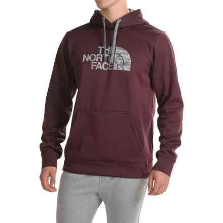The North Face Surgent Half Dome Camo Hoodie (For Men) in Root Brown - Closeouts
