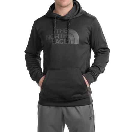 The North Face Surgent Half Dome Camo Hoodie (For Men) in Tnf Black - Closeouts