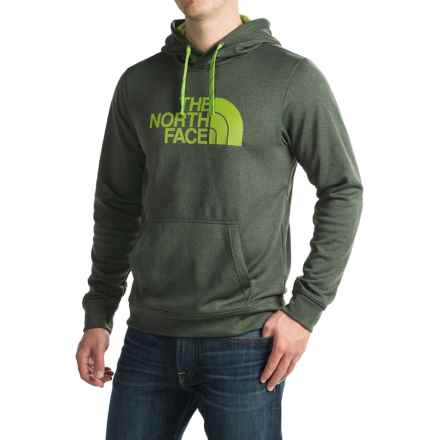 The North Face Surgent Half Dome Hoodie (For Men) in Climbing Ivy Green Dark Heather (Std)/Chive Green - Closeouts