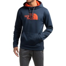 The North Face Surgent Half Dome Hoodie (For Men) in Cosmic Blue/Seville Ornge - Closeouts