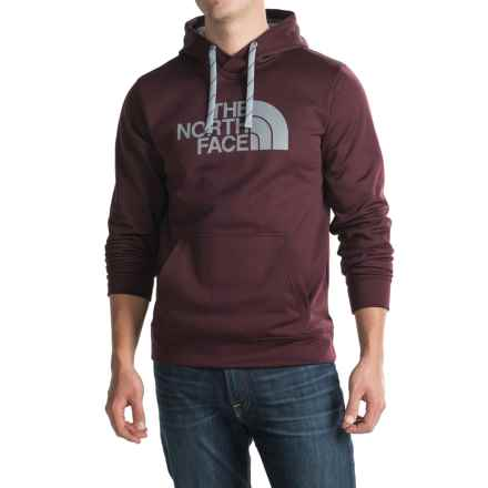 The North Face Surgent Half Dome Hoodie (For Men) in Root Brown/ Mid Grey - Closeouts