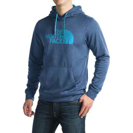 The North Face Surgent Half Dome Hoodie (For Men) in Shady Blue Heather (Std)/Blue Aster - Closeouts