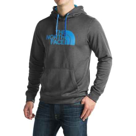 The North Face Surgent Half Dome Hoodie (For Men) in Tnf Dark Grey Heather (Std)/Blue Aster - Closeouts