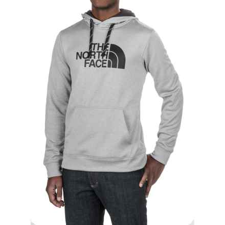 The North Face Surgent Half Dome Hoodie (For Men) in Tnf Light Grey Heather (Std)/Asphalt Grey - Closeouts