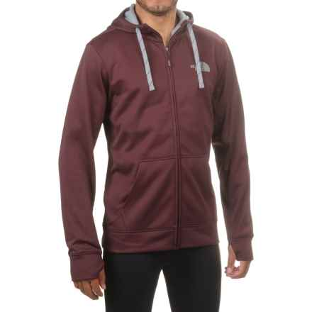 The North Face Surgent LFC Hoodie - Full Zip (For Men) in Root Brown/Mid Grey - Closeouts
