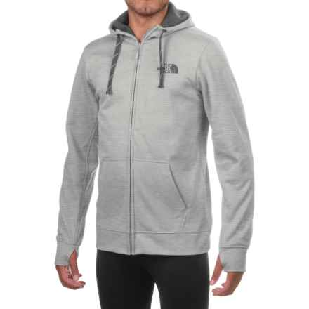 The North Face Surgent LFC Hoodie - Full Zip (For Men) in Tnf Light Grey Heather (Std)/Asphalt Grey - Closeouts