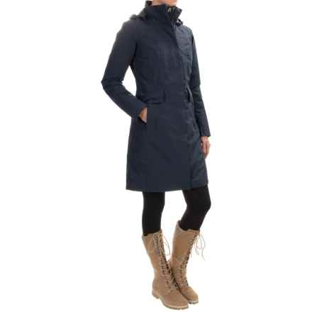 The North Face Suzanne Triclimate® Down Coat - Waterproof, 550 Fill Power, 3-in-1 (For Women) in Urban Navy - Closeouts