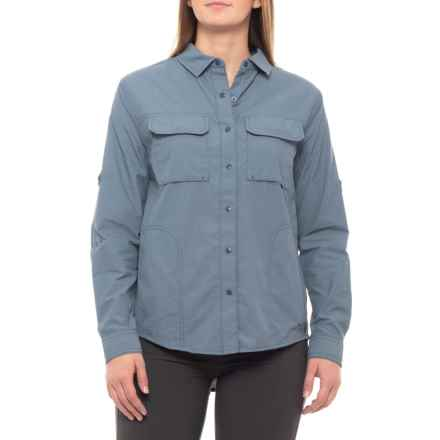 The North Face Swatara Utility Shirt - UPF 30, Long Sleeve (For Women) in Shady Blue - Closeouts