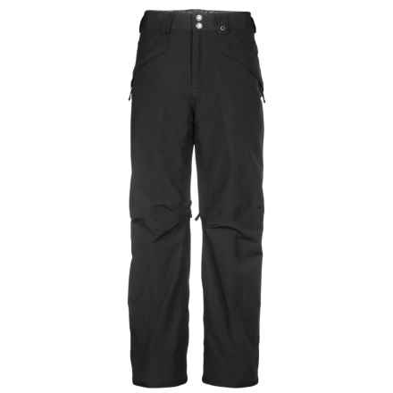 The North Face Switch It Reversible Ski Pants - Waterproof (For Men) in Tnf Black - Closeouts