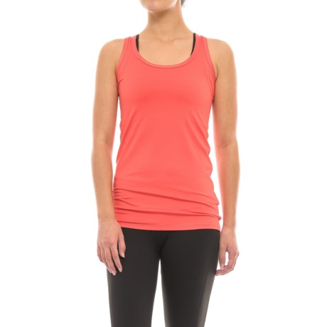 The North Face T Lite Tank Top (For Women) in Cayenne Red