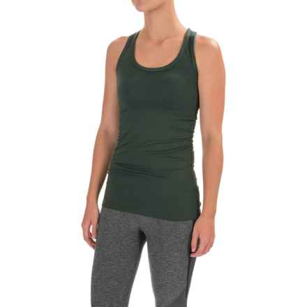 The North Face T Lite Tank Top - Racerback (For Women) in Darkest Spruce - Closeouts