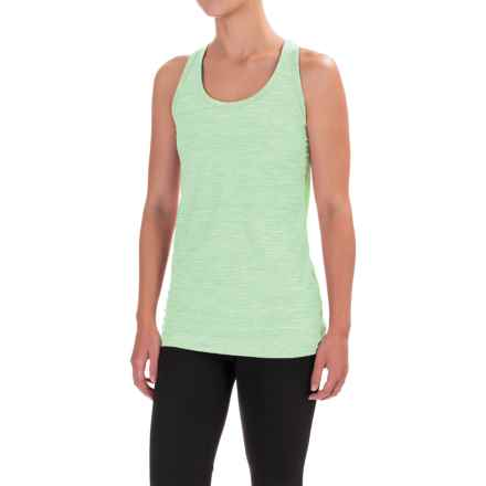 The North Face T Lite Tank Top - Racerback (For Women) in Subtle Green Heather - Closeouts