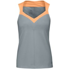 The North Face Tadasana VPR Tank Top - UPF 50 (For Women) in Quarry Grey - Closeouts