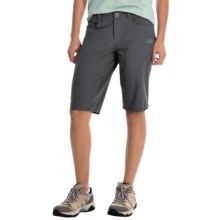 The North Face Taggart Long Shorts - UPF 50 (For Women) in Vanadis Grey - Closeouts