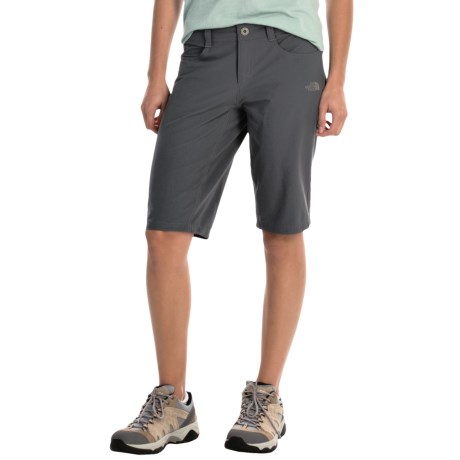The North Face Taggart Long Shorts - UPF 50 (For Women) in Vanadis Grey