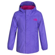 The North Face Tailout Rain Jacket - Waterproof (For Little Girls) in Starry Purple - Closeouts