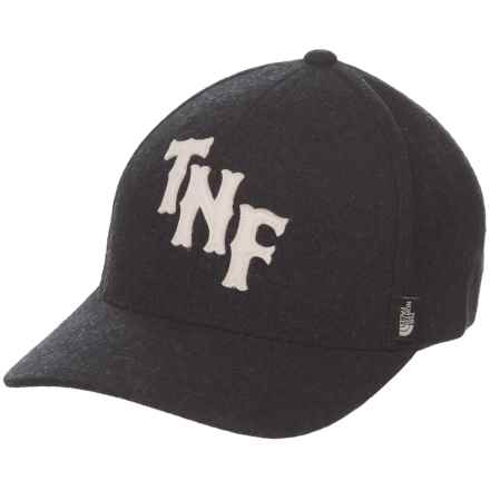 The North Face Team TNF Baseball Cap in Tnf Black/Vintage White - Closeouts