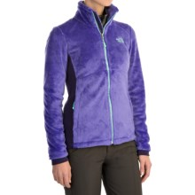 The North Face Tech-Osito Fleece Jacket (For Women) in Starry Purple/Garnet Purple - Closeouts