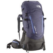 The North Face Terra 40 Backpack - Internal Frame (For Women) in Even Tide Blue/Lavendula Purple - Closeouts