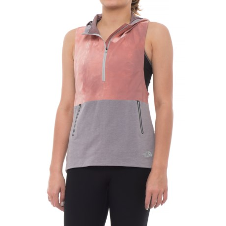 The North Face Terra Metro Vest (For Women) in Light Mahogany Tie Dye Print/Tnf Light Grey Heathe