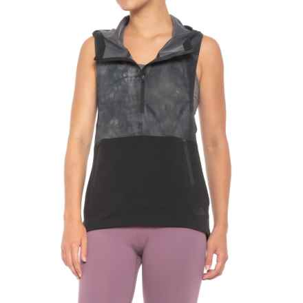 The North Face Terra Metro Vest (For Women) in Tnf Black Tie Dye Print/Tnf Black - Closeouts