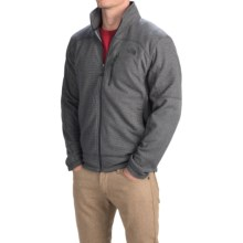 The North Face Texture Cap Rock Fleece Jacket (For Men) in Asphalt Grey/Asphalt Grey - Closeouts