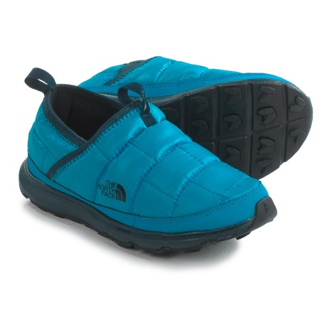 The North Face Thermal Tent Mule Shoes - Insulated (For Little and Big Kids) in Cosmic Blue/Blue Aster