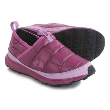 The North Face Thermal Tent Mule Shoes - Insulated (For Little and Big Kids) in Lux Purple/Wisteria Purple - Closeouts