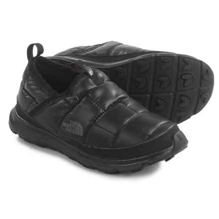 The North Face Thermal Tent Mule Shoes - Insulated (For Little and Big Kids) in Tnf Black/Dark Shadow Grey - Closeouts