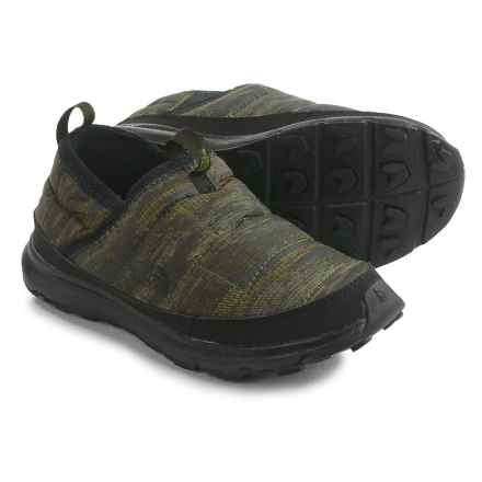The North Face Thermal Tent Mule Shoes - Insulated (For Little and Big Kids) in Tnf Black/Rosin Green Camo - Closeouts