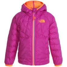 The North Face Thermoball Hooded Jacket - Insulated (For Toddlers) in Luminous Pink - Closeouts