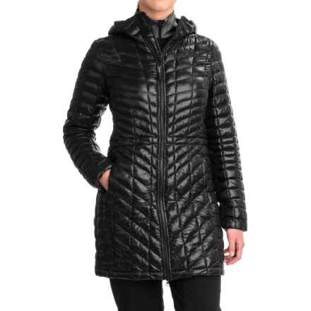 The North Face ThermoBall® Hooded Parka - Insulated (For Women) in Tnf Black - Closeouts
