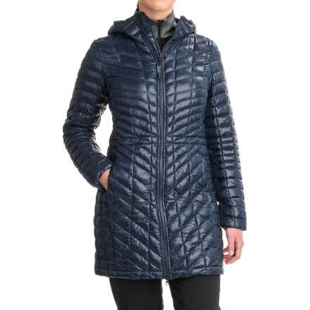 The North Face ThermoBall® Hooded Parka - Insulated (For Women) in Urban Navy - Closeouts