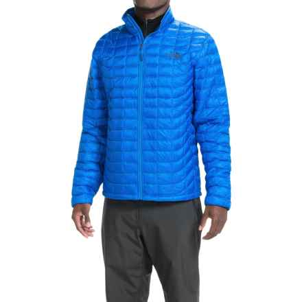 The North Face ThermoBall® Jacket - Insulated (For Men) in Bomber Blue - Closeouts