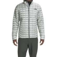 The North Face Thermoball Jacket - Insulated (For Men) in High Rise Grey/Asphalt Grey - Closeouts