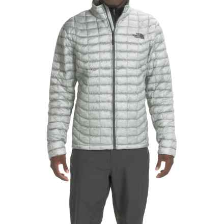 The North Face ThermoBall® Jacket - Insulated (For Men) in High Rise Grey/Asphalt Grey - Closeouts